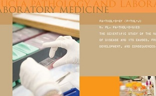 Department publications. UCLA Pathology & Laboratory Medicine