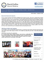 Department Newsletter: Fall 2013